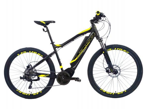 Elektrokolo LECTRON Montana MAX 27,5 480 Wh 2019 black/yellow