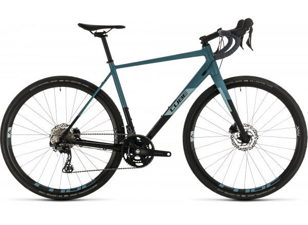 Gravel CUBE NUROAD RACE 2020 Black´n´greyblue