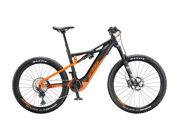 Elektrokolo KTM MACINA KAPOHO 2971 2020 Black matt (orange)