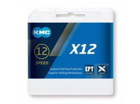 Řetěz pro MTB KMC X12 EPT 12 speed Silver