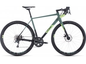Gravel CUBE NUROAD PRO 2020 Black´n´sharpgreen