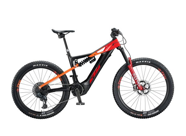 Elektrokolo KTM MACINA PROWLER Sonic 625Wh 2020 Black matt (space orange +glossy)