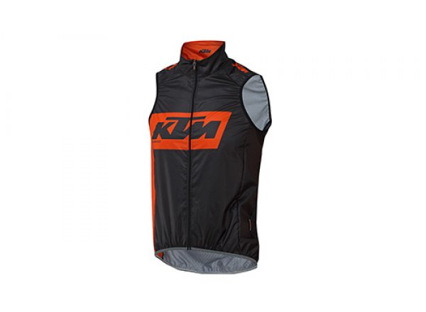 Cyklistická vesta KTM Factory Team 2019 Black