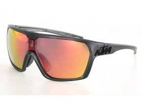 Cyklistické brýle KTM FC Polarized 2021 Black/orange