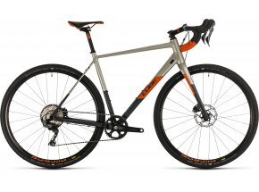 Gravel CUBE NUROAD SL 2020 Titanium´n´orange