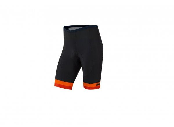 Dětské cyklistické kraťasy KTM Factory Youth bez laclu Black/orange