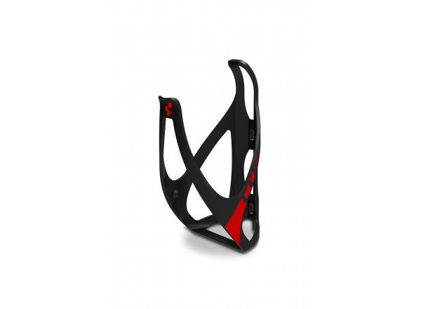 Košík CUBE Bottle Cage HPP Matt black´n´red