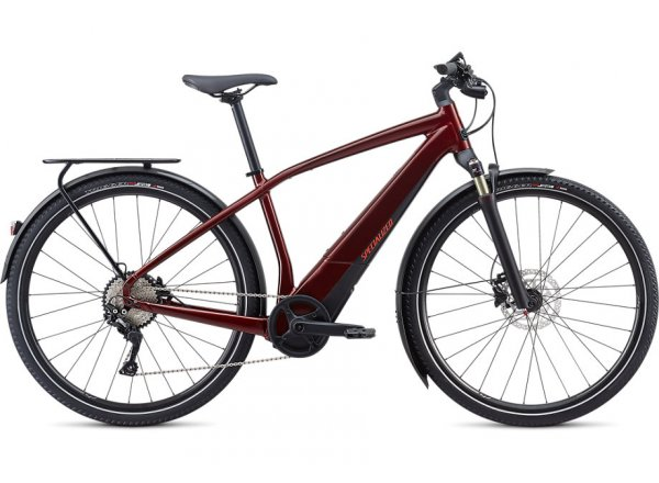 Elektrokolo SPECIALIZED TURBO VADO 4.0 28 500Wh 2020 Metallic Crimson / Black / Rocket Red