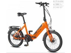 Elektrokolo KTM MACINA FOLD 500Wh 2020 orange (black)