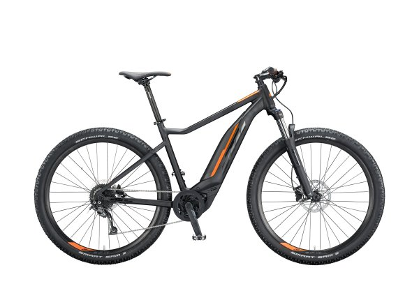 Elektrokolo KTM MACINA ACTION 291 500Wh 2020 black matt (black +orange glossy)