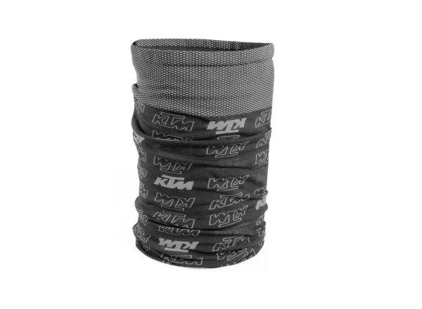 Multifunkční šátek KTM Factory Prime Scarf 2021 Black/grey