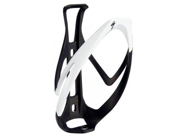 Košík na láhev SPECIALIZED RIB CAGE II Black/white