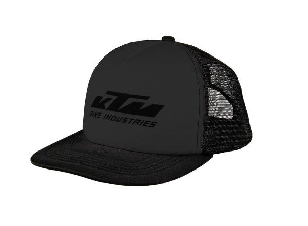 Kšiltovka KTM Factory Team Mesh cap Black/black