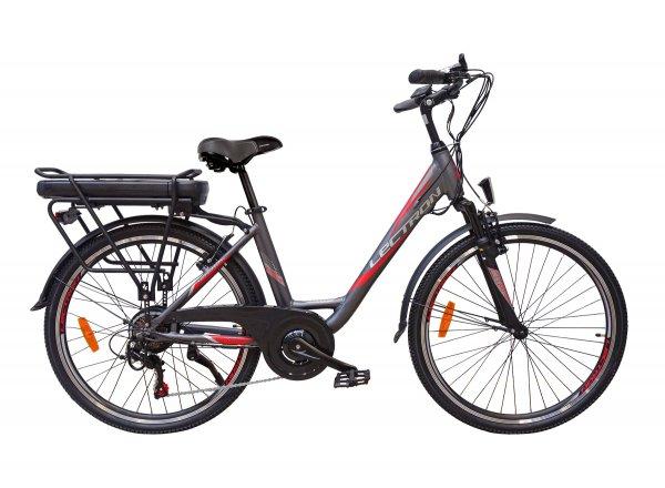 Elektrokolo LECTRON Citana Dark 26 468Wh 2020 Grey/red