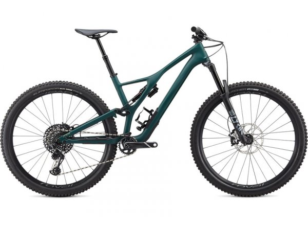 Horské kolo SPECIALIZED STUMPJUMPER ST LTD CARBON 29 2020 SATIN JUNGLE GREEN / METALLIC SPRUCE