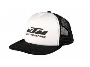 Kšiltovka KTM Factory Team Mesh cap 2021 Black/white