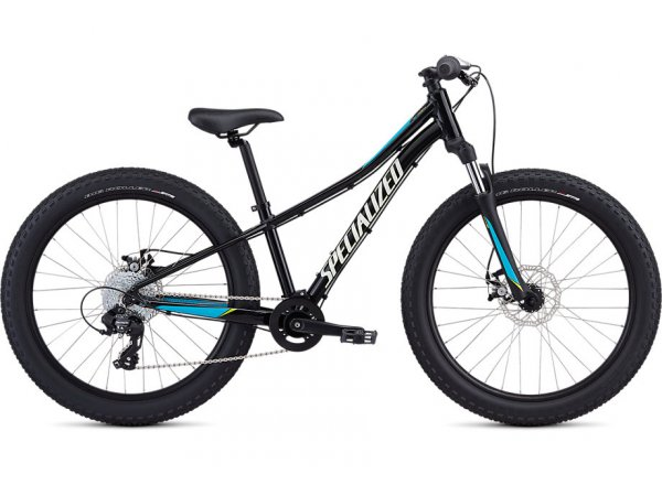 Dětské kolo SPECIALIZED RIPROCK 24 2020 Black / Nice Blue / Metallic White Silver