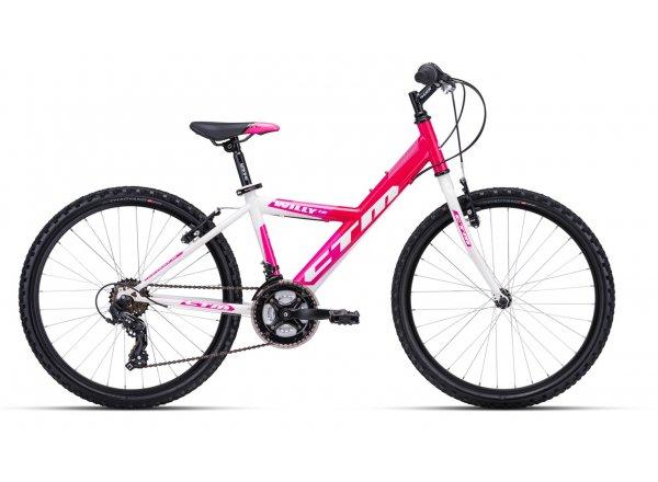 Dětské kolo CTM WILLY 1.0 24 2020 Pink/white