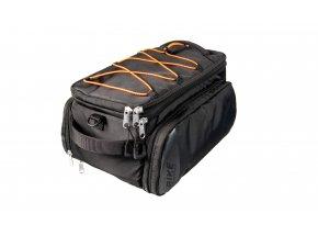 Brašna na nosič KTM Carrier Bag Double Fidlock snap it Black