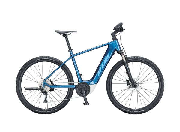 Elektrokolo KTM MACINA CROSS P610 625Wh 2021 denim (blue+white)