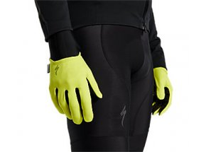 Cyklistické rukavice Specialized Prime-Series Thermal Gloves HYPERVIZ