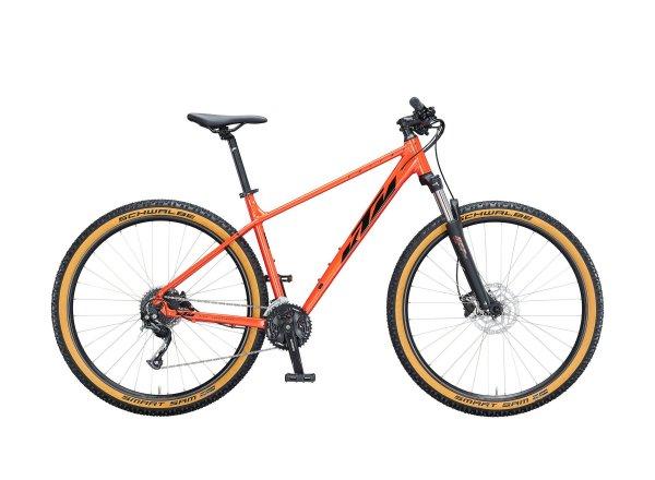 """Horské kolo KTM CHICAGO DISC 291 29"""" 2021 fire orange (black)"""