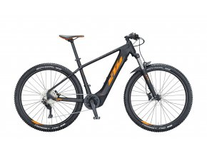 Elektrokolo KTM MACINA TEAM 293 625Wh 2021 black matt (orange+black glossy)