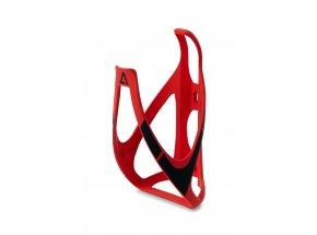 Košík ACID (Cube) Bottle Cage HPP Red/black