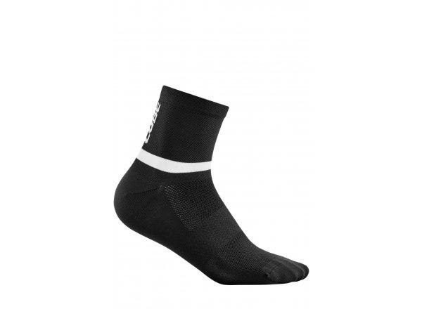 Ponožky CUBE Socke Mid Cut Blackline
