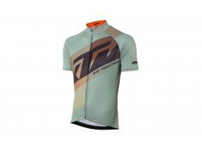 Cyklistický dres KTM Factory Line 2021 oak/aqua