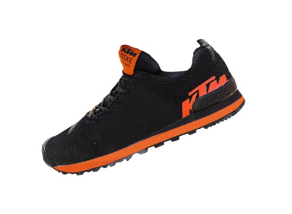 Obuv KTM Factory Team Woven Sneaker 2021 Black/orange
