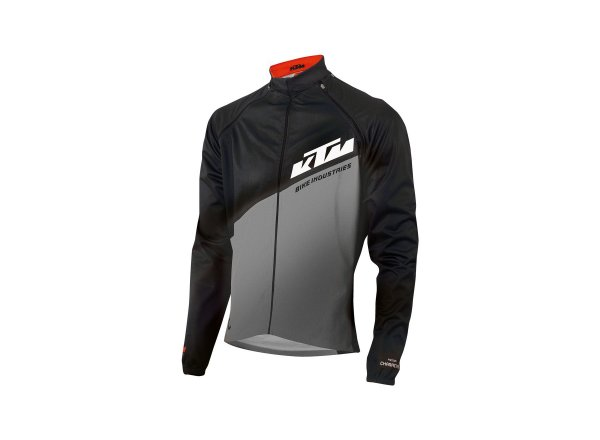 Bunda KTM Factory Character Jacket +/- Arms 2021 Black/grey