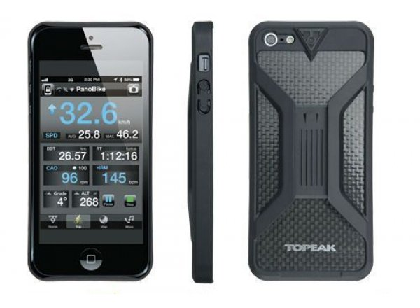 Topeak RideCase II obal a držák na iPhone 5 Black