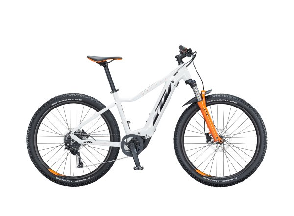Elektrokolo KTM MACINA RACE 292 500Wh 2021 metallic white (black+orange)