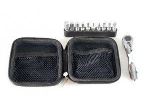Nářadí KTM mini ráčna Bit Tool Team 10 & KTM bag Silver