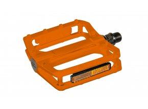 Pedály KTM FREERIDE BMX Alu (1 pár) Orange