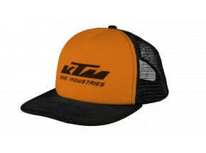 Kšiltovka KTM Factory Team Mesh cap Black/orange