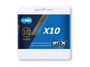 Řetěz pro elektrokola KMC X10 EPT 10s Silver