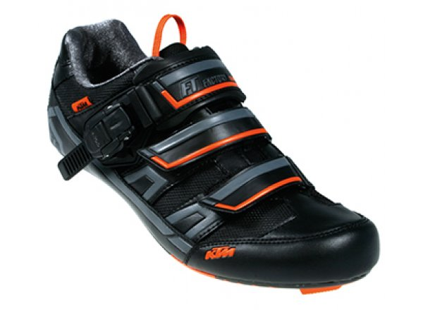 Tretry KTM Factory team Road carbon Black/orange