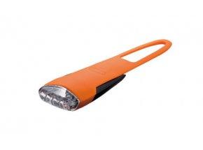 Přední blikačka KTM USB LED silikon Orange