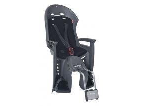 Dětská sedačka HAMAX Smiley zadní Grey/black