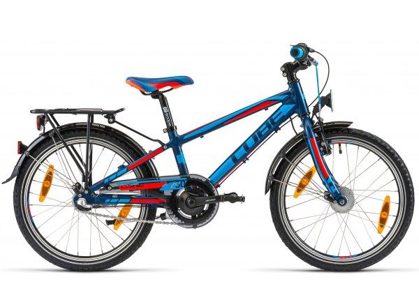Dětské kolo Cube Kid 200 Cross 2014 Blue/red