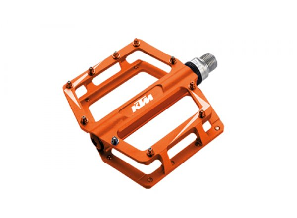 Pedály KTM freeride BMX Alu (1 pár) Orange