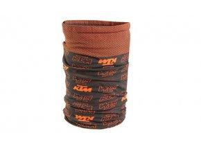 Multifunkční šátek KTM Factory Prime Scarf Black/orange