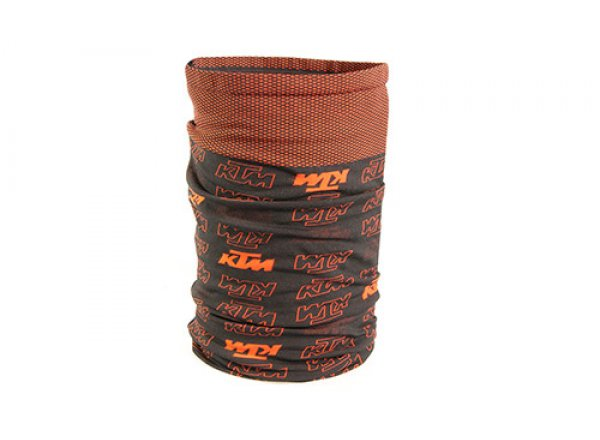 Multifunkční šátek KTM Factory Prime Scarf 2021 Black/orange
