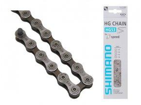 Řetěz SHIMANO HG53 balený+čep 9k