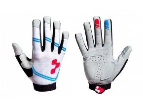 Dlouhoprsté rukavice CUBE Race Teamline long finger