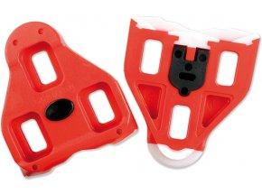Kufry LOOK Delta red(1 pár)