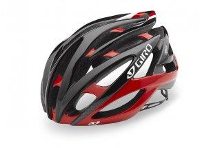 Cyklistická helma GIRO ATMOS II Red/ black