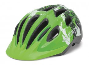 Dětská helma na kolo GIRO Flurry II bright green blockade